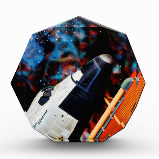 Space Shuttle Acrylic Award