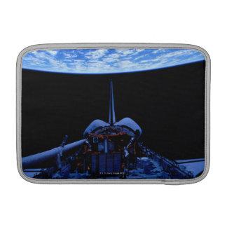 Space Shuttle and Earth MacBook Air Sleeve