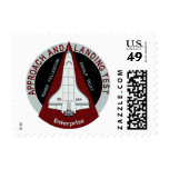 Space Shuttle Approach and Landing Test Patch Postage Stamp