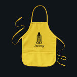 """Space shuttle apron for kids 