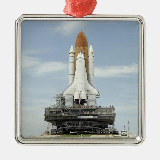 Space shuttle Atlantis 2 Christmas Ornaments