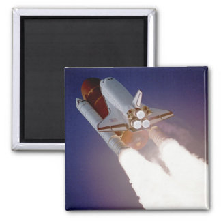 Space Shuttle Atlantis 2 Inch Square Magnet