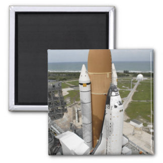 Space shuttle Atlantis 2 Inch Square Magnet