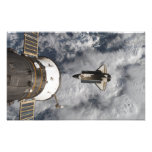 Space Shuttle Atlantis 2 Photo Art
