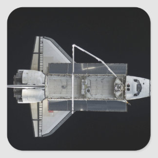 Space shuttle Atlantis 4 Square Sticker