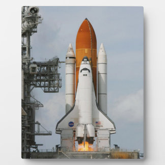 Space Shuttle Atlantis 8x10 Photo Plaque