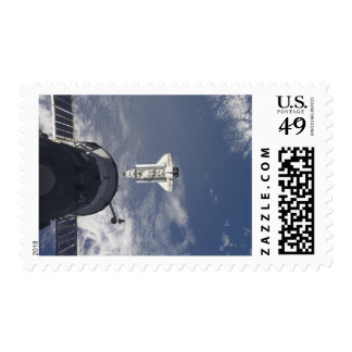 Space Shuttle Atlantis and a Russian spacecraft Postage