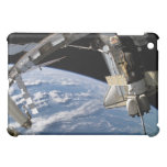 Space Shuttle Atlantis and a Soyuz spacecraft Cover For The iPad Mini