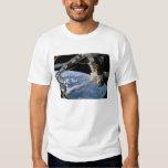 Space Shuttle Atlantis and a Soyuz spacecraft Tee Shirt