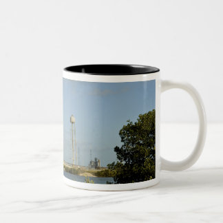 Space Shuttle Atlantis and Endeavour Two-Tone Coffee Mug
