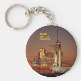 Space Shuttle Atlantis Basic Round Button Keychain