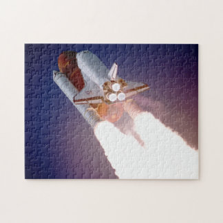Space Shuttle Atlantis Blasts Off Jigsaw Puzzle