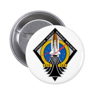Space Shuttle Atlantis Button