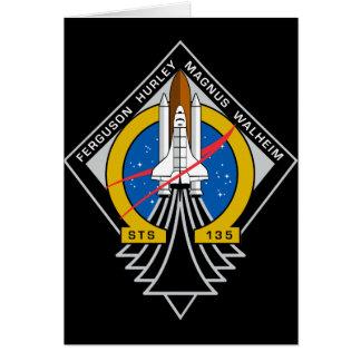 Space Shuttle Atlantis Card