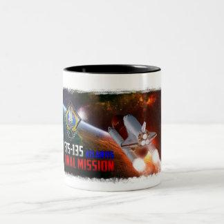 Space Shuttle Atlantis Final Mission Coffee Mug