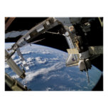 Space Shuttle Atlantis & ISS (STS-115) Print