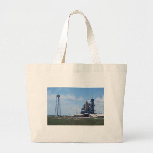 Space Shuttle Atlantis Jumbo Tote Bag