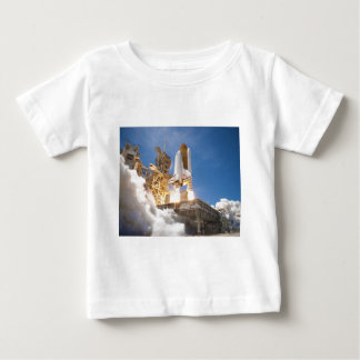 Space Shuttle Atlantis Launching STS-132 Mission Baby T-Shirt
