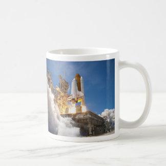 Space Shuttle Atlantis Launching STS-132 Mission Coffee Mug