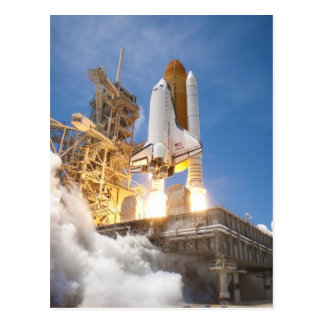 Space Shuttle Atlantis Launching STS-132 Mission Postcard