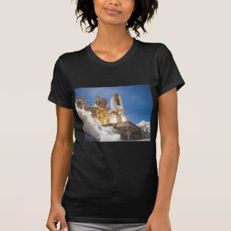 Space Shuttle Atlantis Launching STS-132 Mission T-Shirt