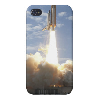 Space Shuttle Atlantis lifts off 10 iPhone 4 Cover