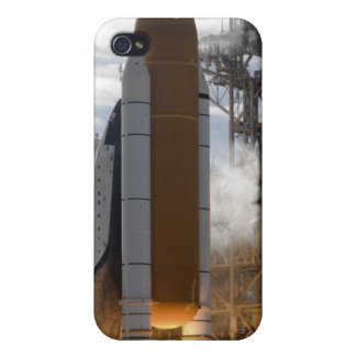 Space Shuttle Atlantis lifts off 15 Cover For iPhone 4