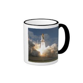 Space Shuttle Atlantis lifts off 24 Ringer Coffee Mug