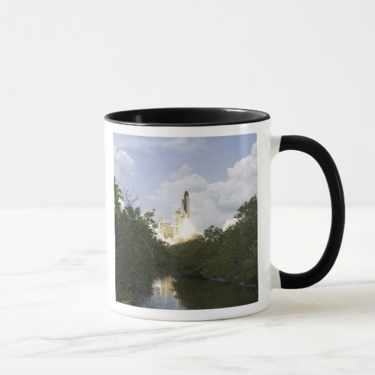 Space Shuttle Atlantis lifts off 25 Mug