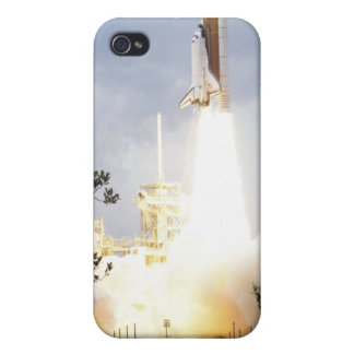 Space Shuttle Atlantis lifts off 4 Cover For iPhone 4