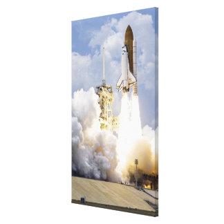 Space Shuttle Atlantis lifts off 5 Canvas Print