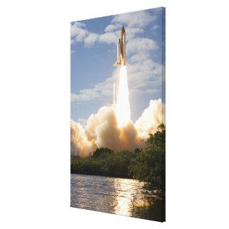 Space Shuttle Atlantis lifts off 8 Canvas Print