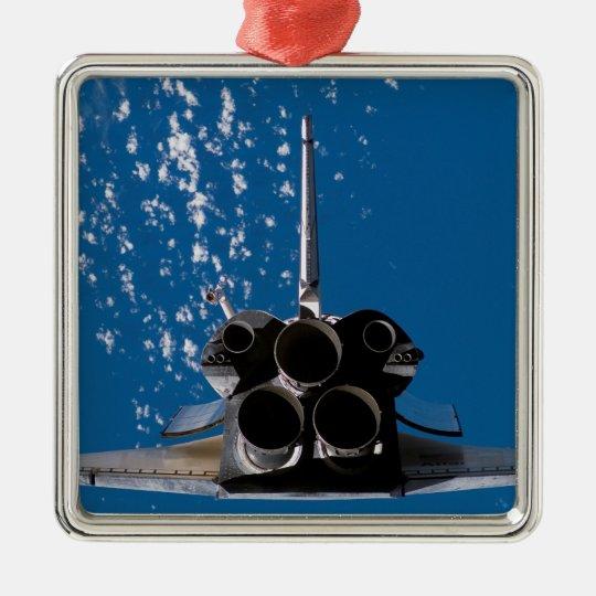 Space Shuttle Atlantis Metal Ornament