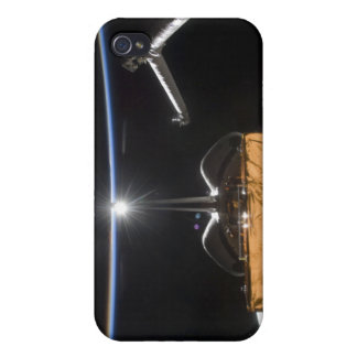 Space Shuttle Atlantis' payload bay iPhone 4/4S Covers