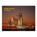 Space Shuttle Atlantis Post Card