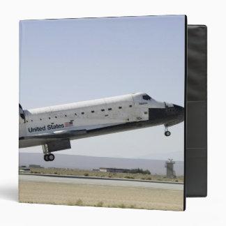 Space Shuttle Atlantis prepares for landing 2 3 Ring Binder