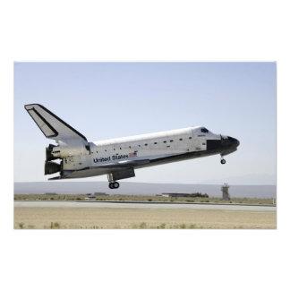 Space Shuttle Atlantis prepares for landing 2 Photo Print
