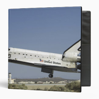 Space Shuttle Atlantis prepares for landing Binder