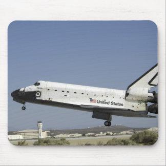 Space Shuttle Atlantis prepares for landing Mouse Pad