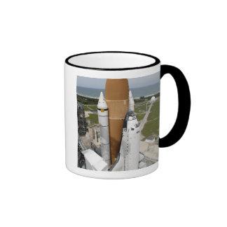 Space shuttle Atlantis Ringer Mug