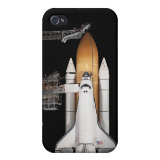 Space shuttle Atlantis sits ready Case For iPhone 4