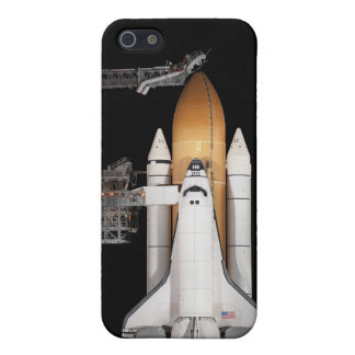 Space shuttle Atlantis sits ready Covers For iPhone 5