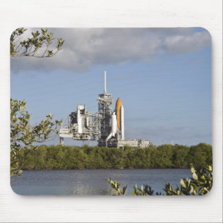 Space Shuttle Atlantis sits ready Mouse Pad