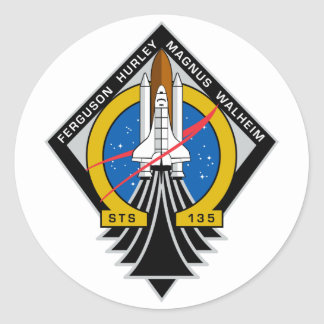 Space Shuttle Atlantis Stickers