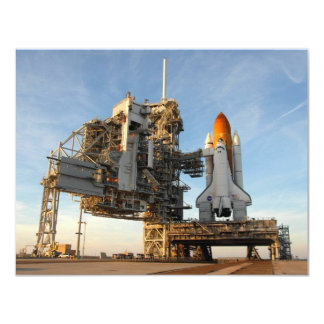Space Shuttle Atlantis (STS-122) - launch pad Card