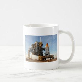 Space Shuttle Atlantis (STS-122) - launch pad Classic White Coffee Mug