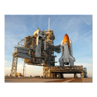 Space Shuttle Atlantis STS-122 - launch pad Invite