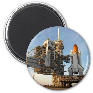 Space Shuttle Atlantis (STS-122) - launch pad Magnet