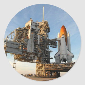 Space Shuttle Atlantis (STS-122) - launch pad Stickers