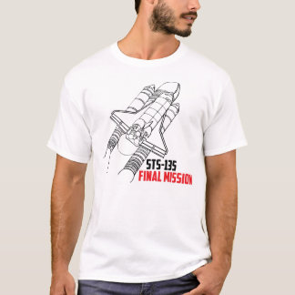 Space Shuttle Atlantis STS-135 Final Mission Shirt